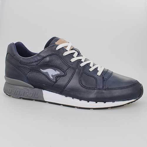 Kangaroos Leder Blue Blau Omni Coil 470510400 Schuhe r1 Dark