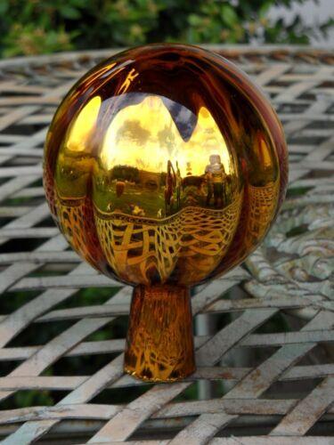 Balkon Rosenkugel 8cm Rosenkugeln Gold Glaskugeln Gartenkugeln Garten