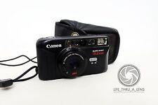 Canon Sure Shot Telemax 35mm Compact Film Camera with case lomo retro