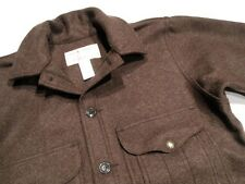 New! - Brown - FILSON MACKINAW CRUISER - Wool Jacket - 46 - Dead Stock - $360