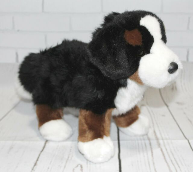 10 Inch Stevie Bernese Mountain Dog Plush Stuffed Animal By Douglas