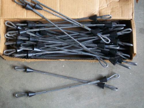 "Loop Ties w// Cones for Steel Ply Concrete Forms 14/"" Symons EMI Overstock"