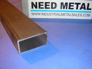"steel rectangular tubing  2/""x 6/""x .188/""x 36/"""