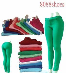 Women-039-s-Fashion-Causal-Slim-Stretch-Skinny-Soft-Pant-Pockets-Size-S-M-L-XL-NWT