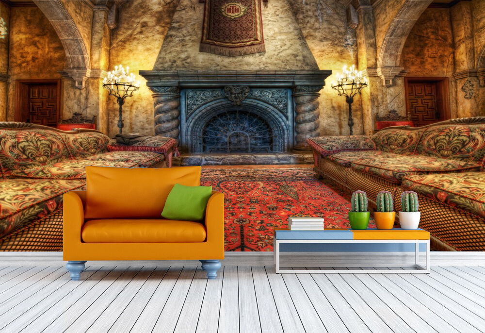 3D Sala nobile 14 Parete Murale Foto Carta da parati immagine sfondo muro stampa