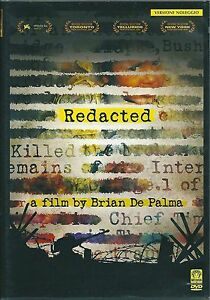 Redacted-DVD-Rent-Nuovo-Sigillato-Brian-De-palma