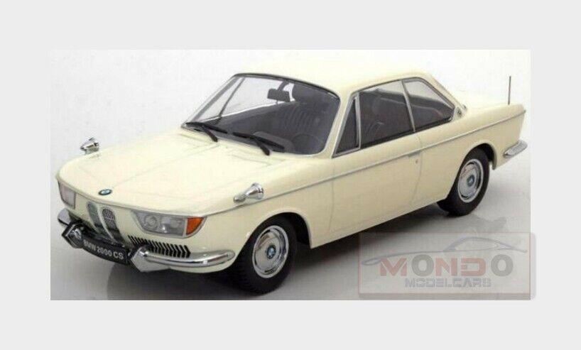 Bmw 2000 Cs Coupe 2-Door 1965 Creme KK SCALE 1 18 KKDC180121 Model