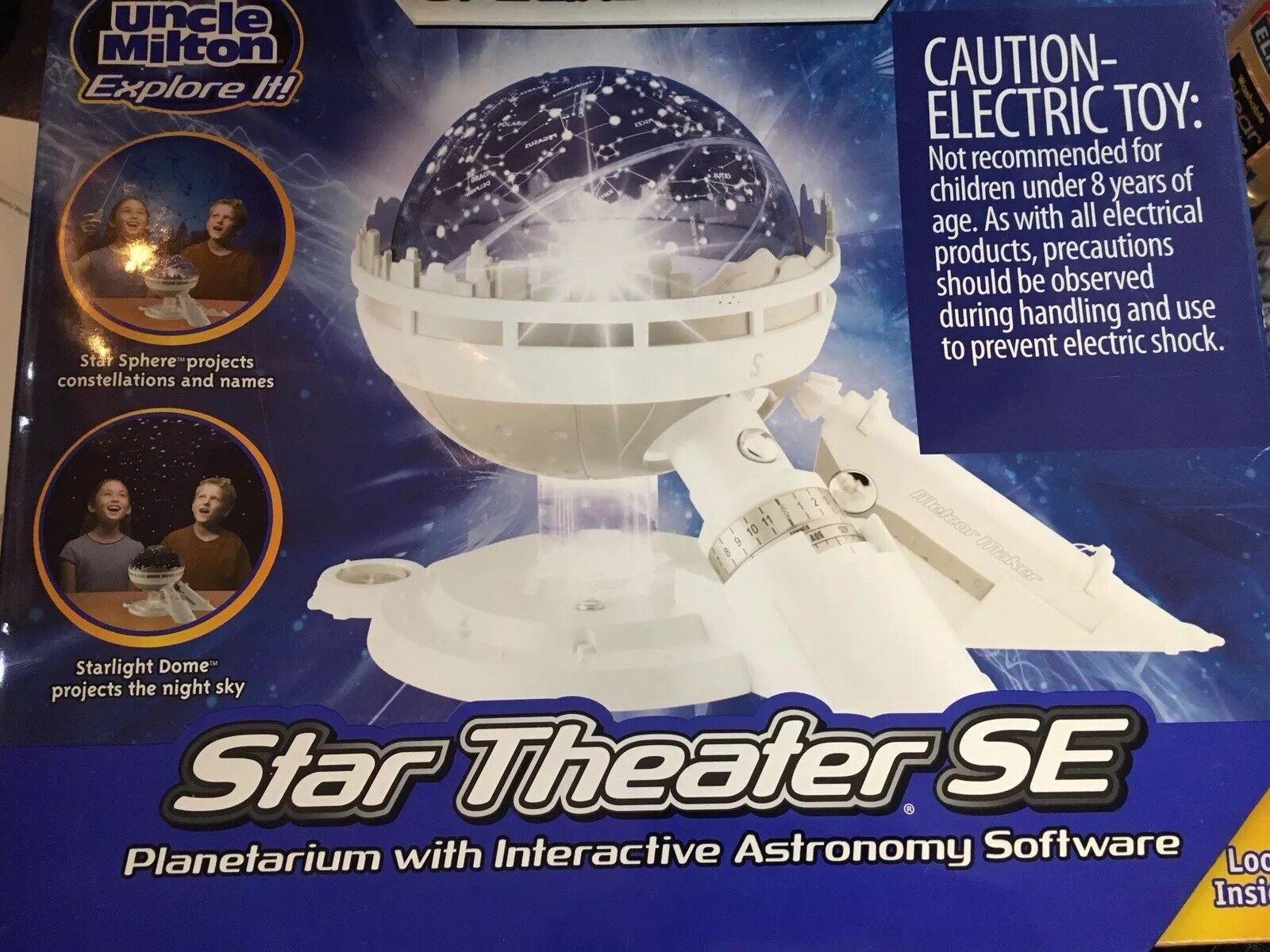New Star Theater interactive Planetarium set and cosmic nightlight