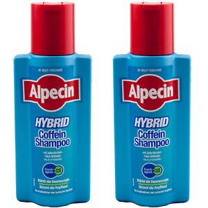 2 x alpecin hybrid coffein koffein shampoo st rkt die haarwurzeln neu dr wolf ebay. Black Bedroom Furniture Sets. Home Design Ideas