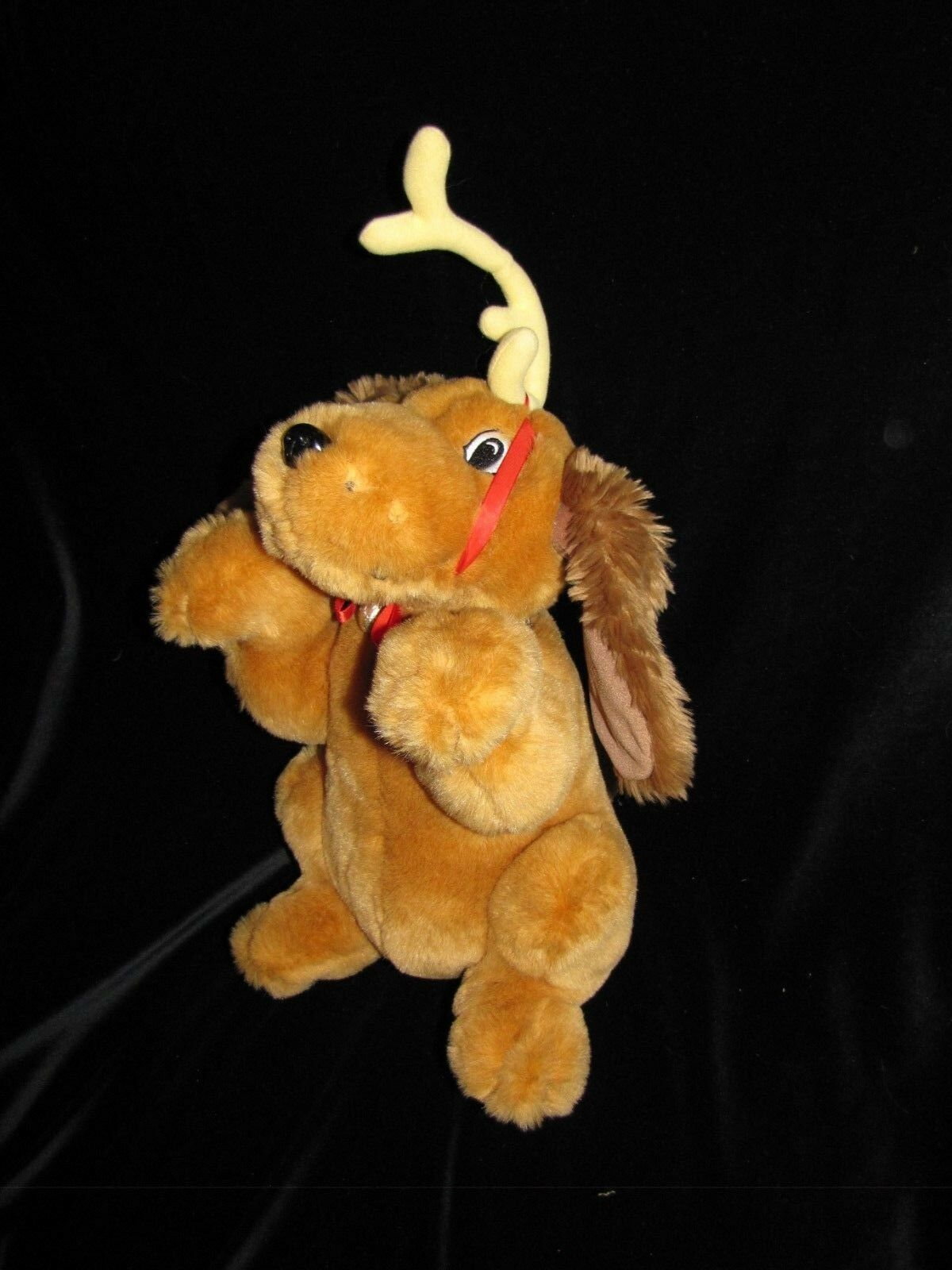 BEVERLY HILLS TEDDY CO HOW THE GRINCH STOLE XMAS MAX DOG ANIMATED MUSICAL SINGS