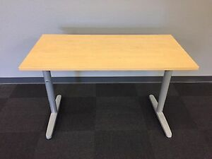 Solid Oak Laminate Adjustable Training Tables EBay - Adjustable training table