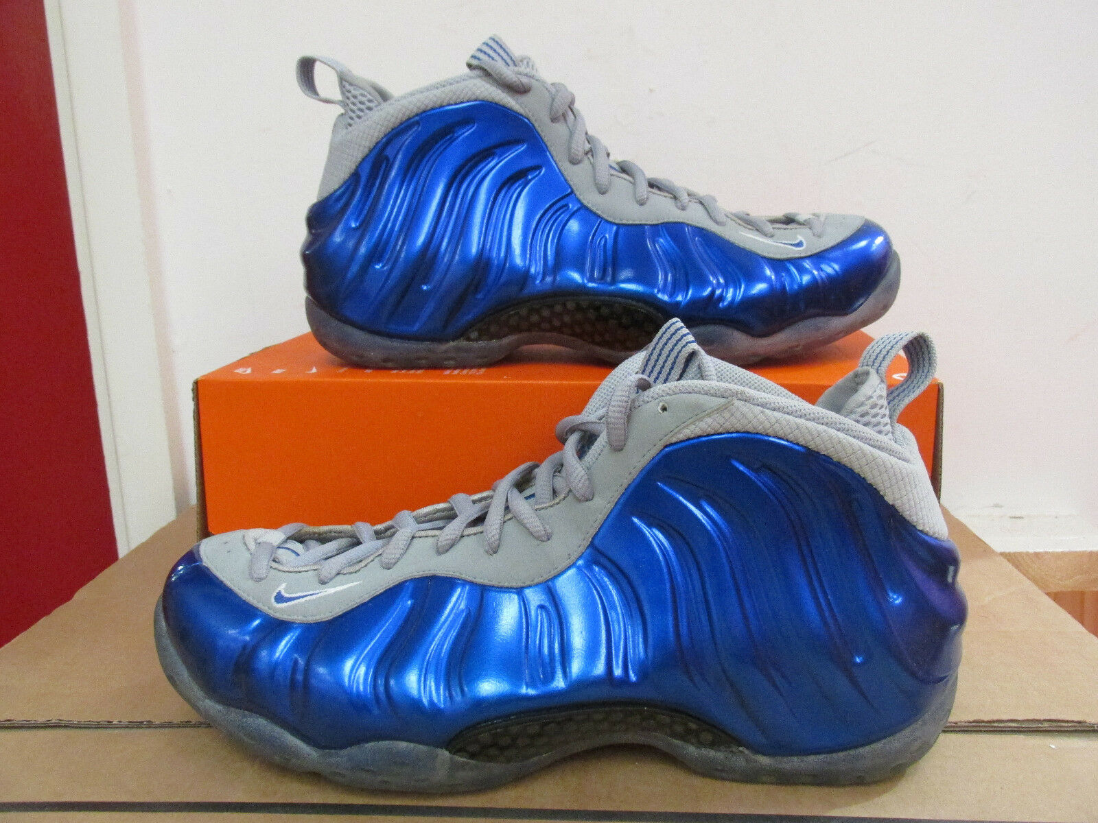Nike air foamposite one mens basketball basketball basketball trainers 314996 401 Turnschuhe CLEARANCE 1e0913