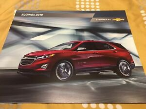 Image Is Loading 2018 Chevy Equinox 36 Page Original S Brochure