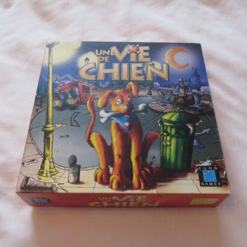 2000 DESCARTES EURO GAMES UNE VIE DE CHIEN JEU BOARD GAME FRENCH FRANCAIS
