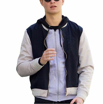 New Baby Driver Ansel Elgort Varsity Jacket For Men All Size Available.