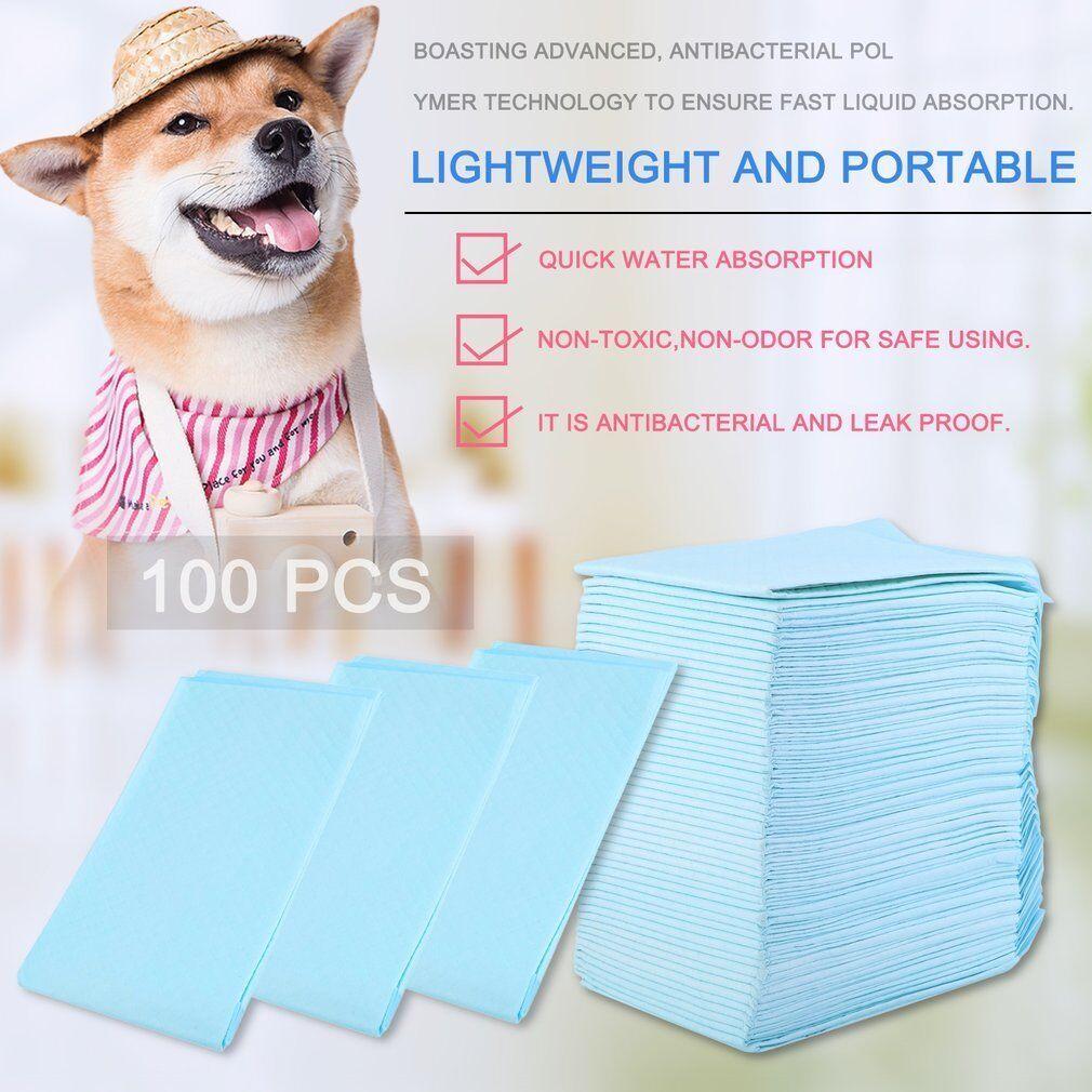 100 x 60X90CM GRANDE PUPPY Formazione Pad Toilet PIPINO tappetini per cane gatto UK
