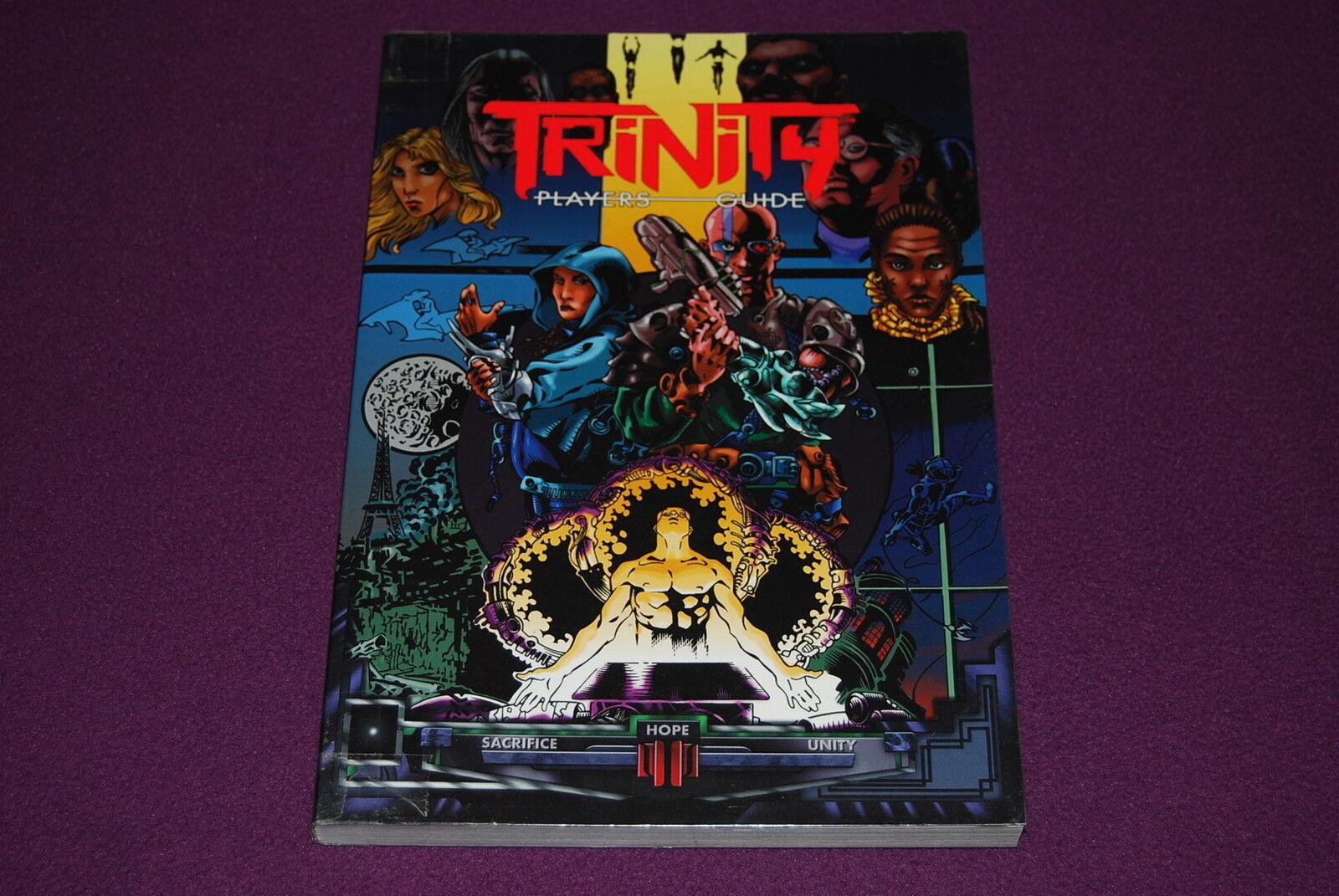 Trinity - jdr jeu de rolle - spieler