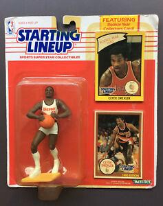 CLYDE-DREXLER-1990-Starting-Lineup-Figure-Bonus-Card-Portland-Trail-Blazers-NBA