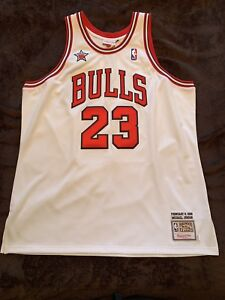 pretty nice 83e59 ae052 Details about Mint Authentic Michael Jordan Mitchell & Ness 1998 98 NBA All  Star Jersey XXL 52