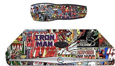 Comics Superhero Sticker/Skin SKY HD BOX & Remote controller/controll sk16