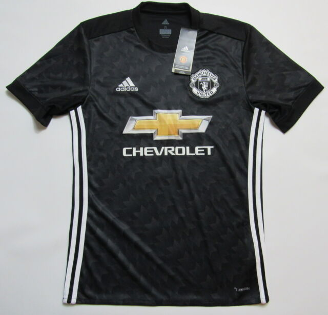 new products 4dda5 f150d MANCHESTER UNITED away NEW jersey shirt ADIDAS 2017-2018 Red Devils adult  SIZE S