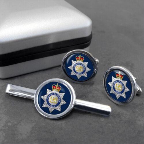 MOD Police Ministry of Defence Cufflinks /& Tieslide