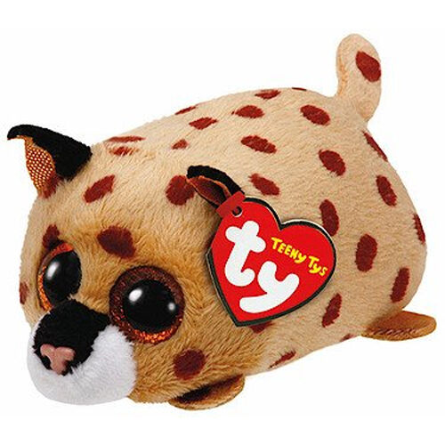 TY Beanie Boos Teeny Tys Stackable Plush - MWMTs 4 inch KENNY the Leopard