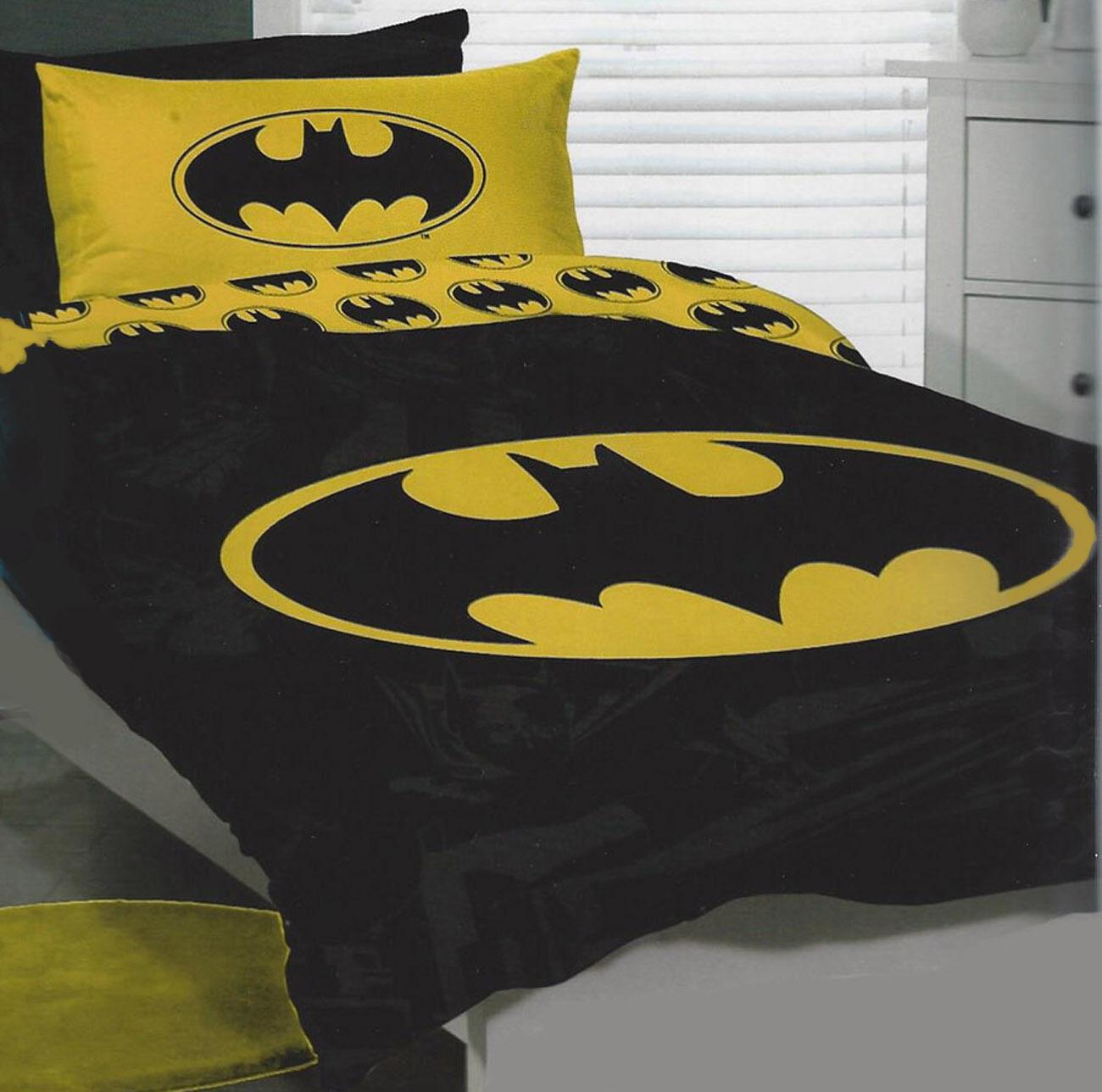Batman Duvet   Doona Quilt Cover Set   DC Comics   US Twin   Single
