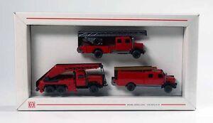 Wiking-2600-Feuerwehr-Packung-Veteranen-ungeoeffnet-MIB-NEU-OVP-ST-9900-30-03