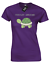 TURTLEY AWESOME LADIES T-SHIRT FUNNY CUTE TURTLE DESIGN ANIMAL LOVER GIFT COL