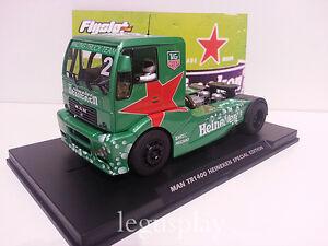 Slot-Scx-Scalextric-Lastwagen-Flyslot-203306-Mann-Tr-1400-Ed-Sonder-Heineken-N