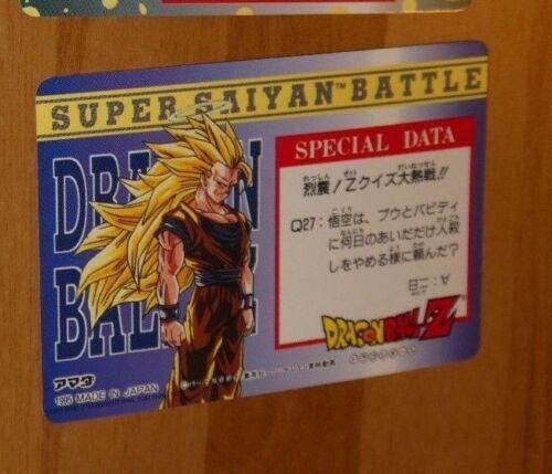 DRAGON BALL Z DBZ HERO COLLECTION PART 3 CARD REG REGULAR CARTE 285 MINT NEUF