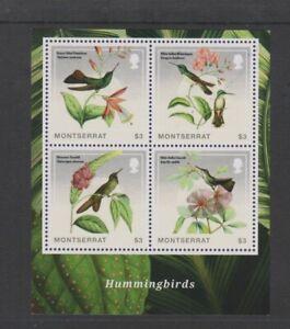 Montserrat-2014-Hummingbird-3-x-4-Bird-sheet-MNH-SG-MS1555