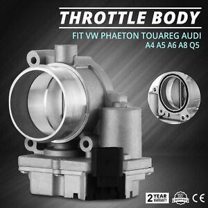 Throttle-Body-fit-Audi-A4-A5-A6-Q5-Q7-VW-Phaeton-Touareg-Top-OEM-Front-2-7TDI