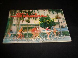SCHWINN CYCLING 1973  PRODUCT BOOKLET BIKE BICYCLEYS & PARTS