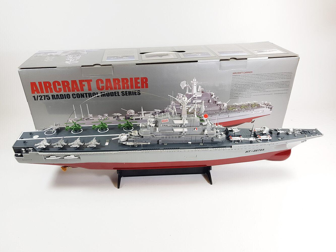 Radio Telecomando Barca Marina Militare guerra portaerei nave da guerra Boat RTR scala 1:275