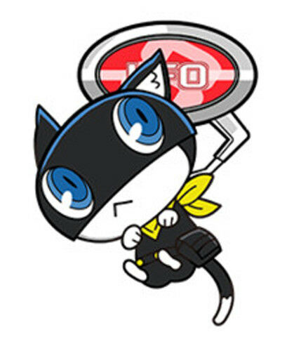 Persona 5 Morgana Ufo Acrylic Key Chain Anime Manga NEW