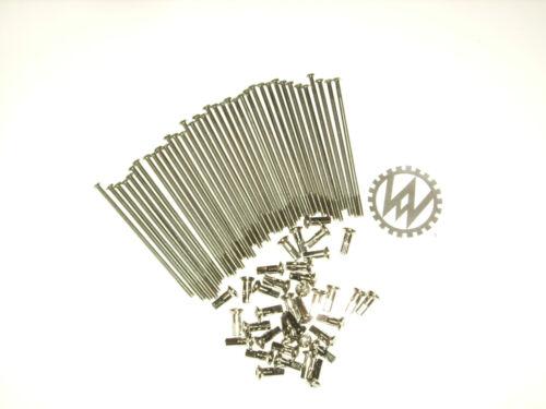1 x Ersatz VA Edelstahl M4 x 105 für 15 Rad-Alufelge MZ Speichen Satz 36 Stück