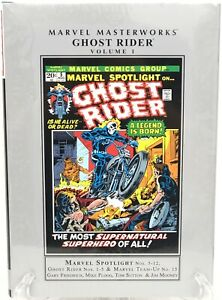 Ghost-Rider-Volume-1-Johnny-Blaze-Mephisto-Marvel-Masterworks-HC-Hardcover-New