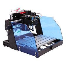 Diy Desktop Engraving Machine Laser Milling Engraver Cnc 3020 Router Metal 300w