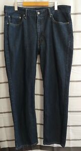 Men-039-s-Levis-Jeans-514-Dark-Blue-Size-38x32