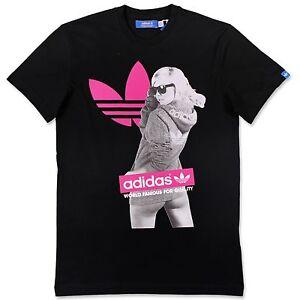 Noir Adidas T Sur Trefoil Shirt X34433 Détails Fille Hommes Originals Loisirs Pv11q