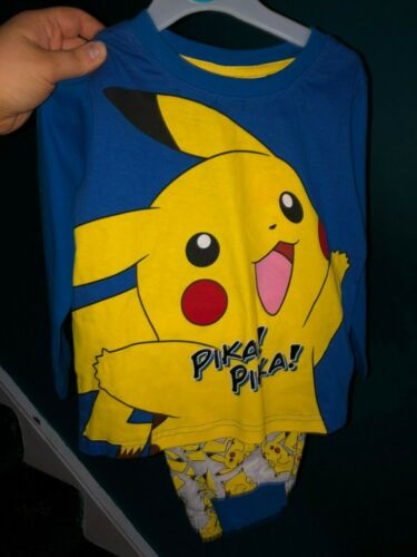 Mario Pokemon Harry Potter Brand New Primark Boy/'s Pyjamas Mickey Mouse
