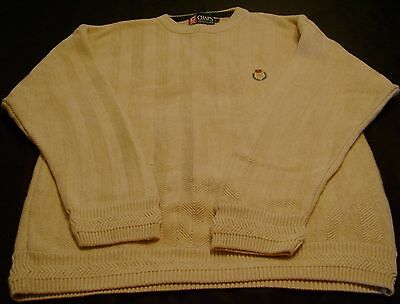 NEW Mens Chaps Solid Long Sleeve Crewneck Sweater Retail $59
