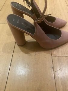 New Look Gorgeous Pink Heels *Wide Fit