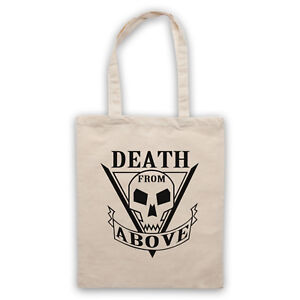Death From Above Unofficial Starship Troopers Tattoo Tote Bag Life Shopper