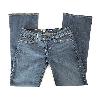 Denzium Womens Jeans Flare Blue Sz 6 S/c Cotton Poly To Assure Years Of Trouble-Free Service Clothing, Shoes & Accessories