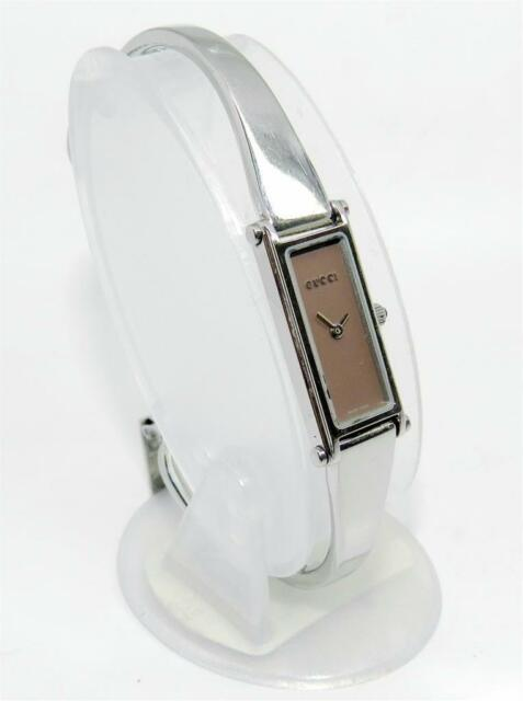 7e25dbd7b30d5c Gucci 1500L Ladies Bangle Watch Mother of Pearl Dial for sale online ...