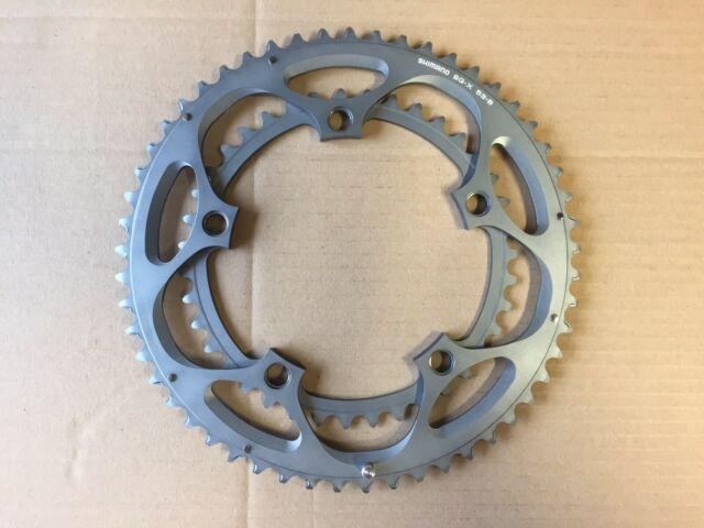 Shimano Ultegra 6600 Chainrings Double 10 Speed 39T or 53T B 5 Bolt 130 BCD PM4