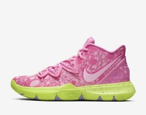 reputable site 5e5f3 ea937 Details about Nike Kyrie Irving 5 Patrick Lotus Pink Green Spongebob  Squarepant Men & Kid Size